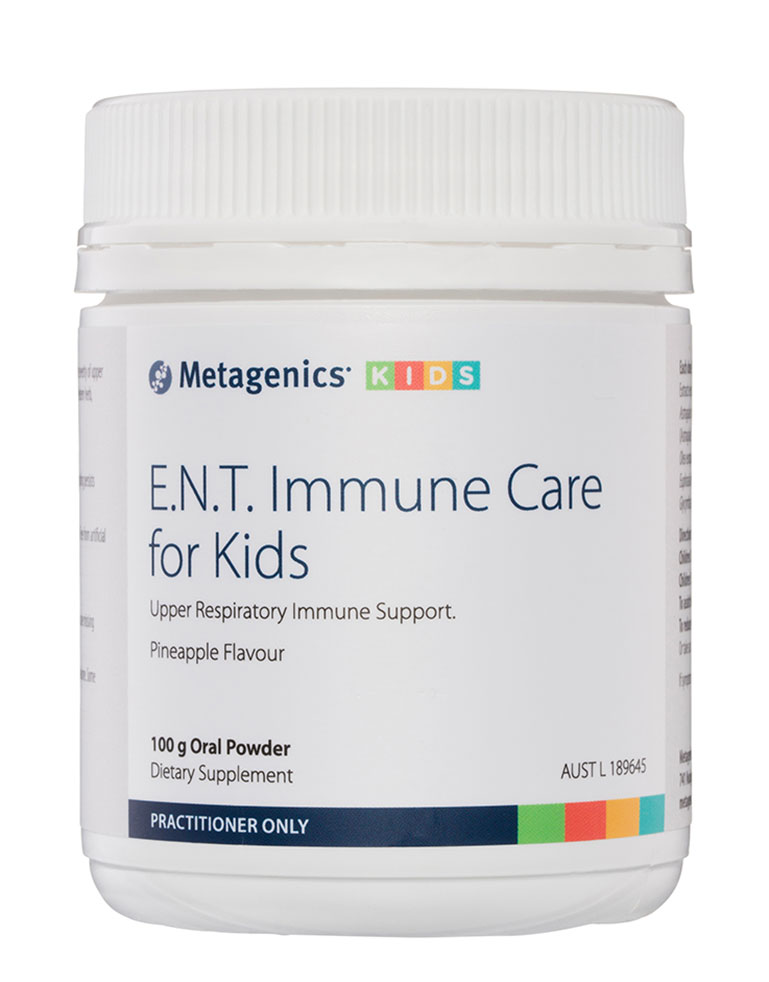 Metagenics-E.N.T.-Immune-Care-for-Kids-Oral-Powder-Pineapple-100g-1